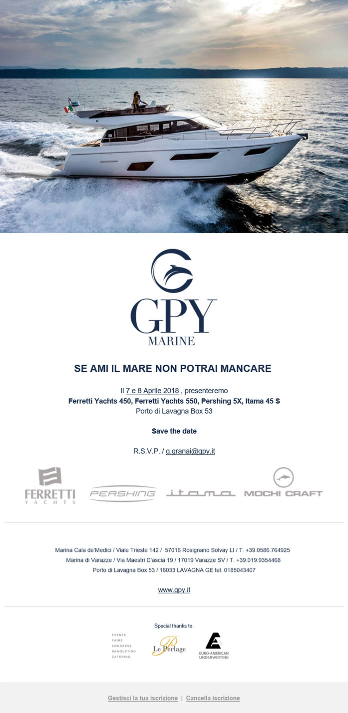 Gpy Newsletter Evento Aprile